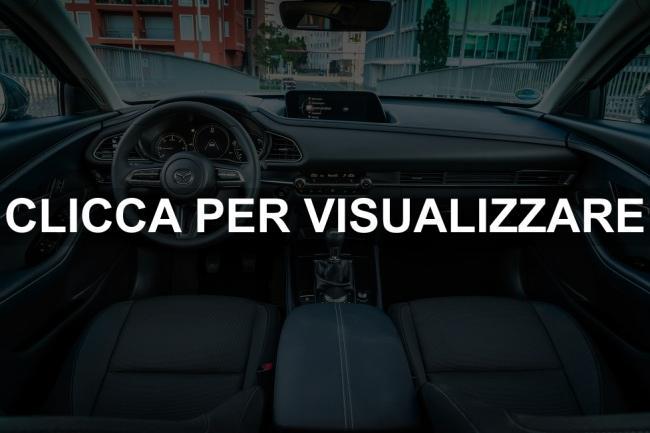 Foto interni nuova Mazda CX 30