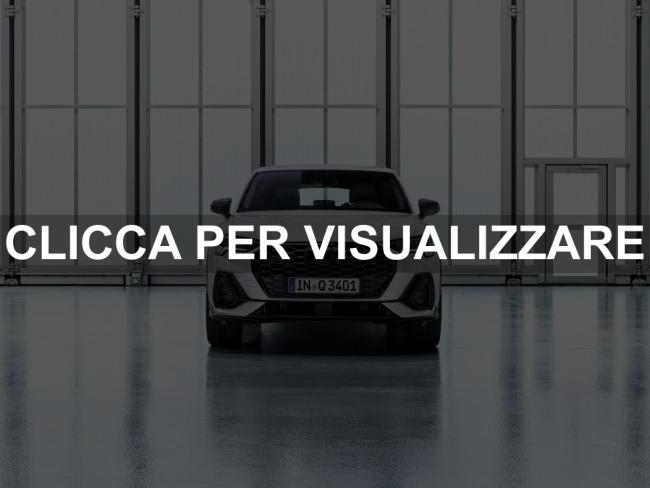 Frontale nuova Audi Q3 Sportback