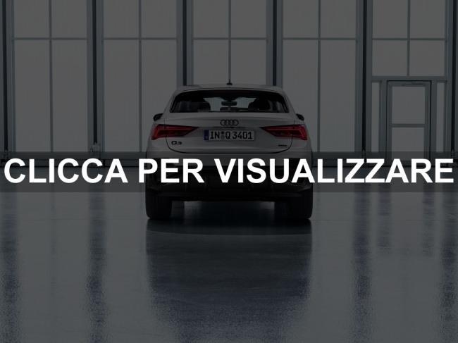 Posteriore nuova Audi Q3 Sportback