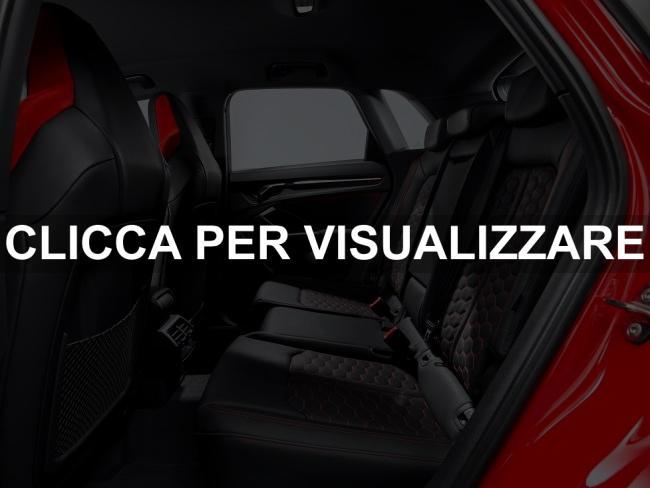Sedili posteriori nuova Audi RS Q3 2020