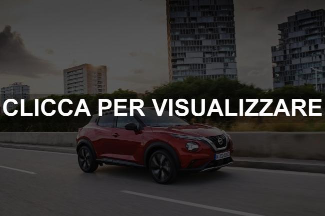 Fiancata nuova Nissan Juke 2020