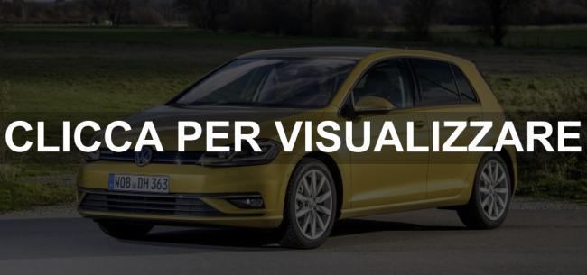 Frontale Volkswagen Golf 7