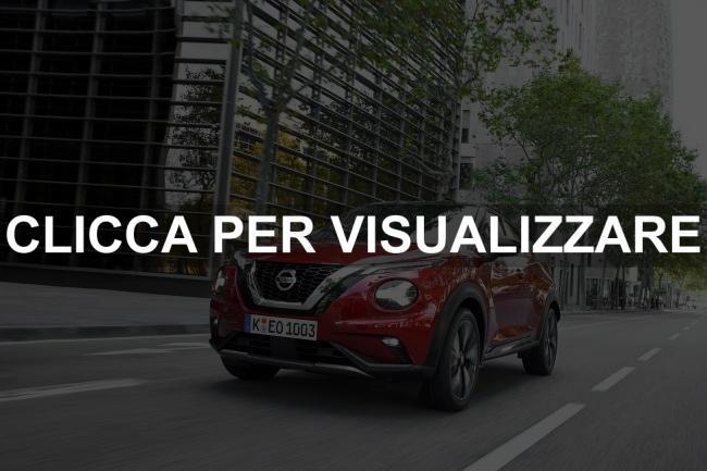 Frontale nuova Nissan Juke 2020