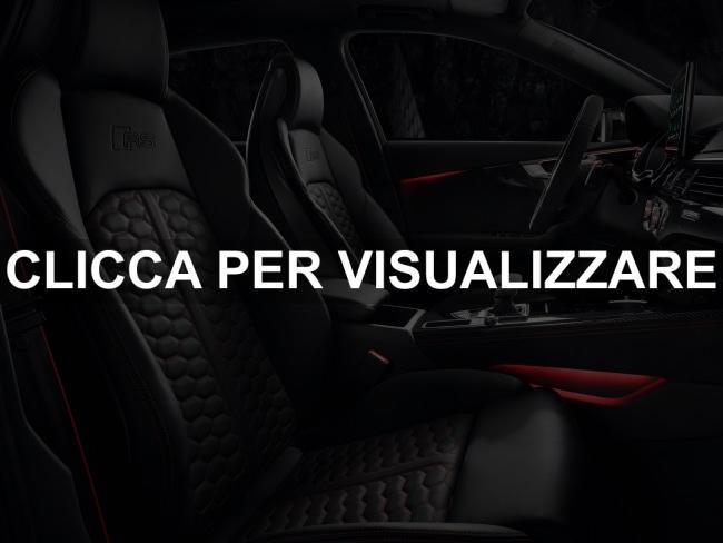 Immagine abitacolo nuova Audi RS4 2020