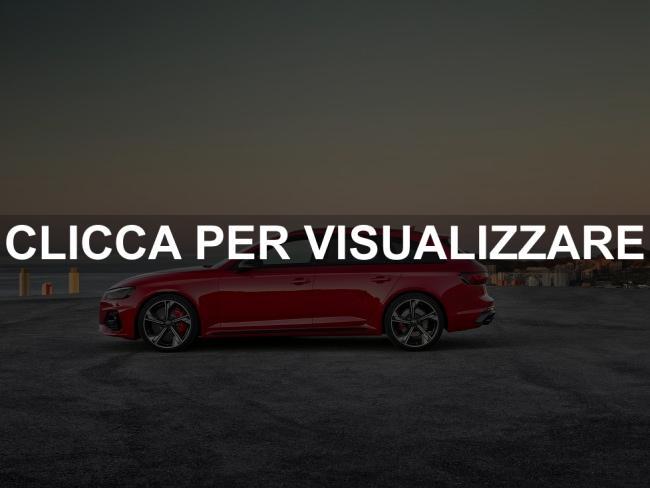 Immagine fiancata nuova Audi RS 4 Avant 2020