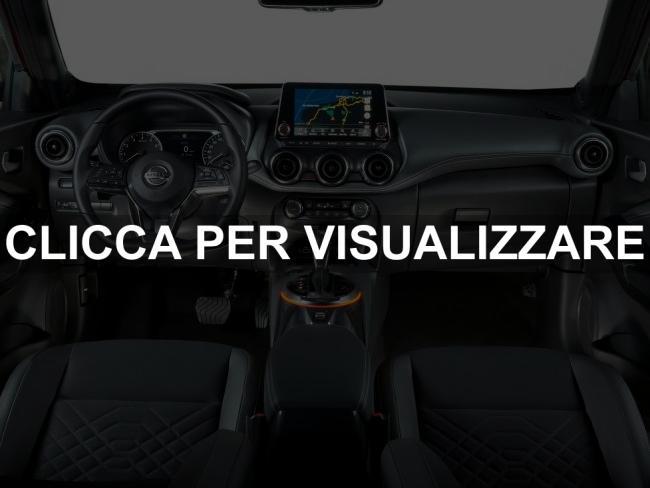 Immagine interni nuovo Nissan Juke 2020