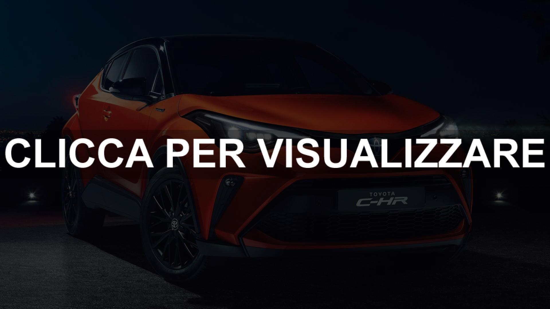 Nuova Toyota C HR restyling 2020 con nuovo motore ibrido