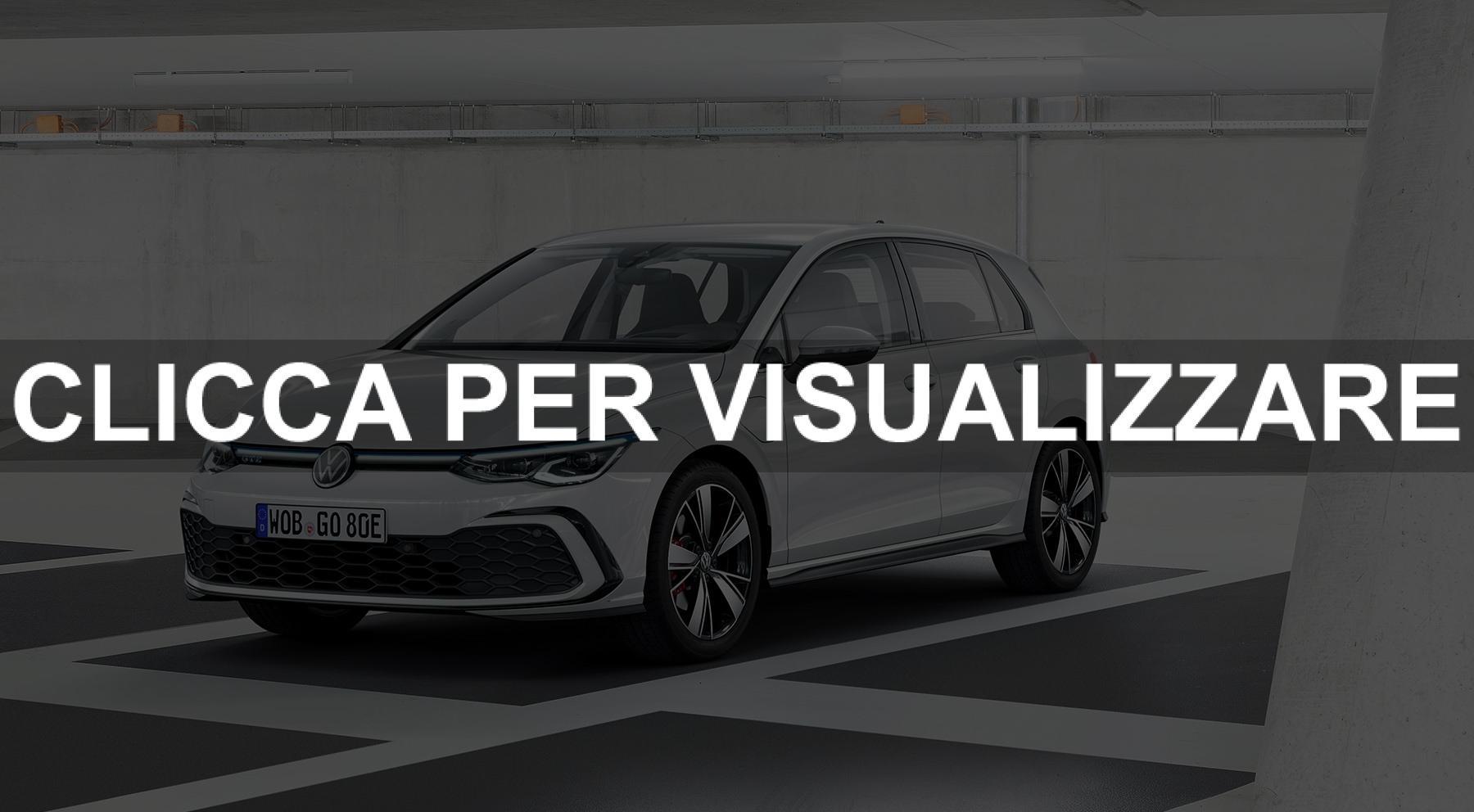 Nuova Volkswagen Golf 8 GTE