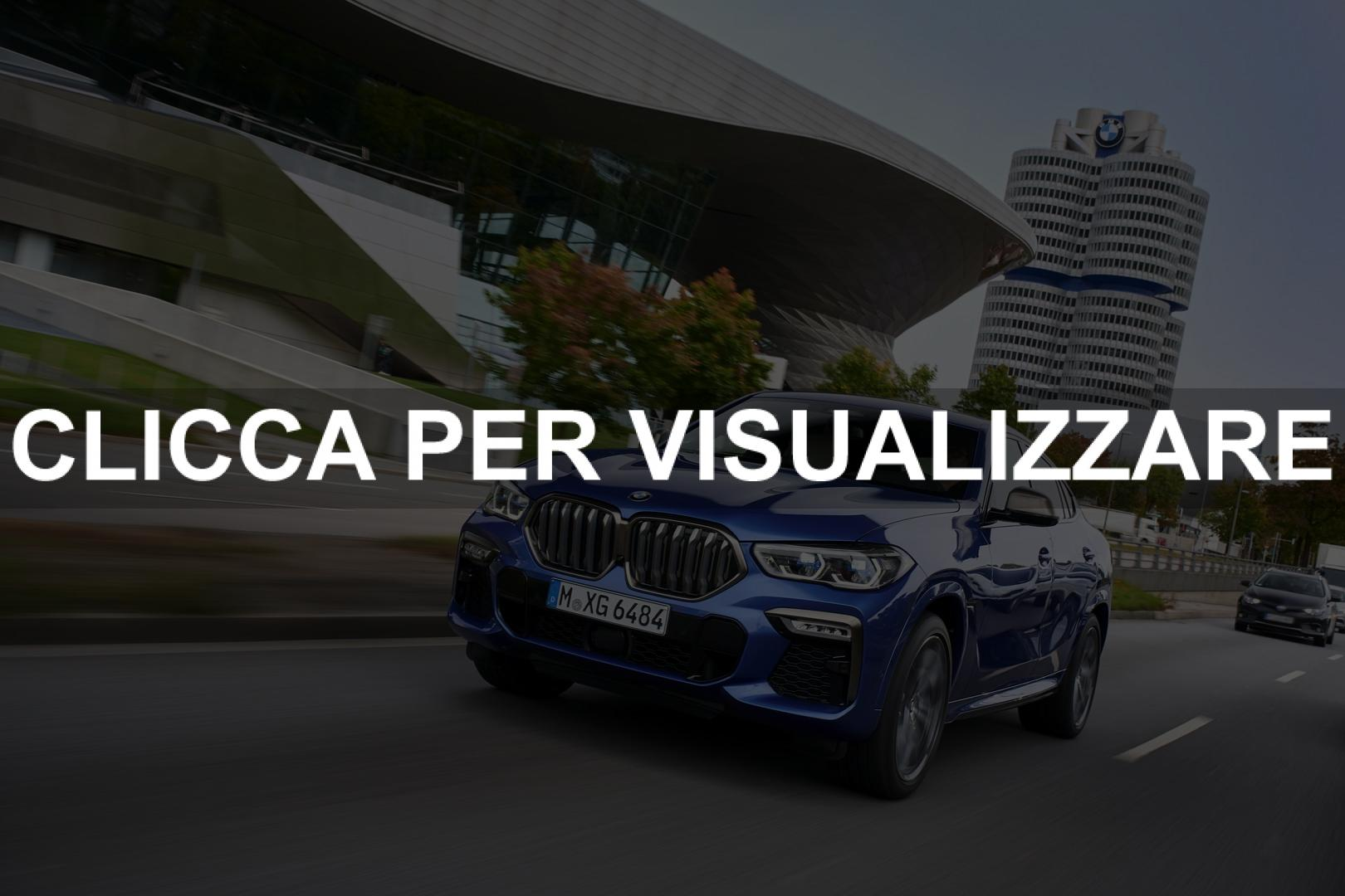 Foto ufficiali nuova BMW X6 2020