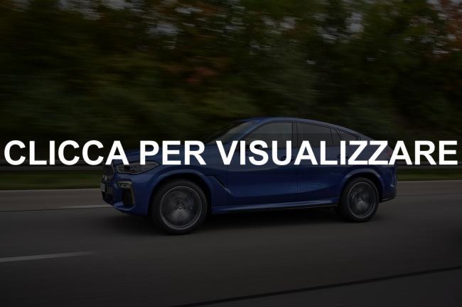 Immagine fiancata nuova BMW X6 2020