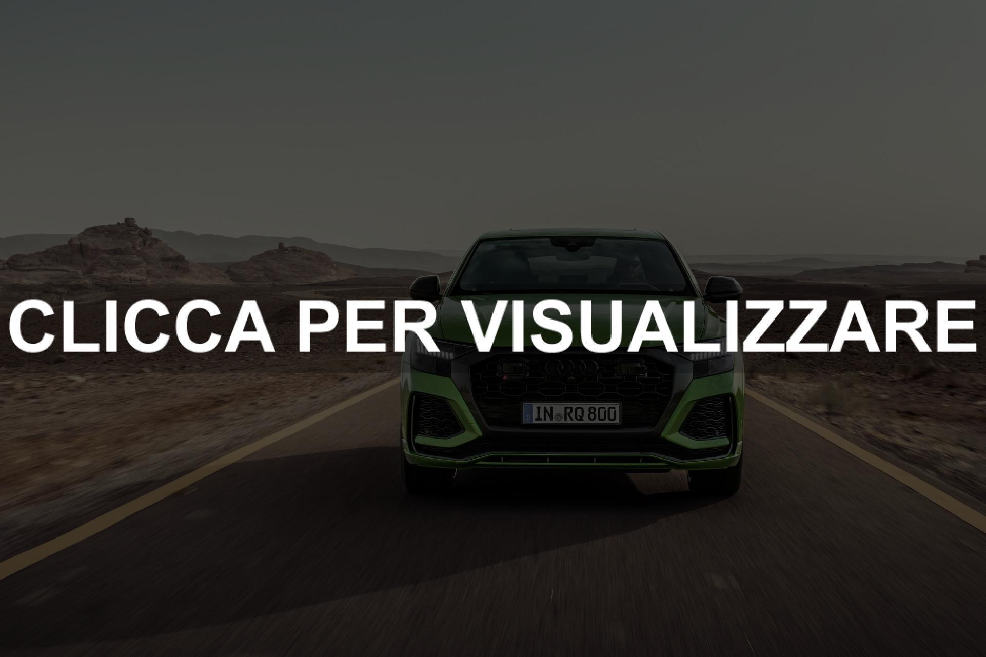 Immagine frontale nuovo Audi RS Q8 2020