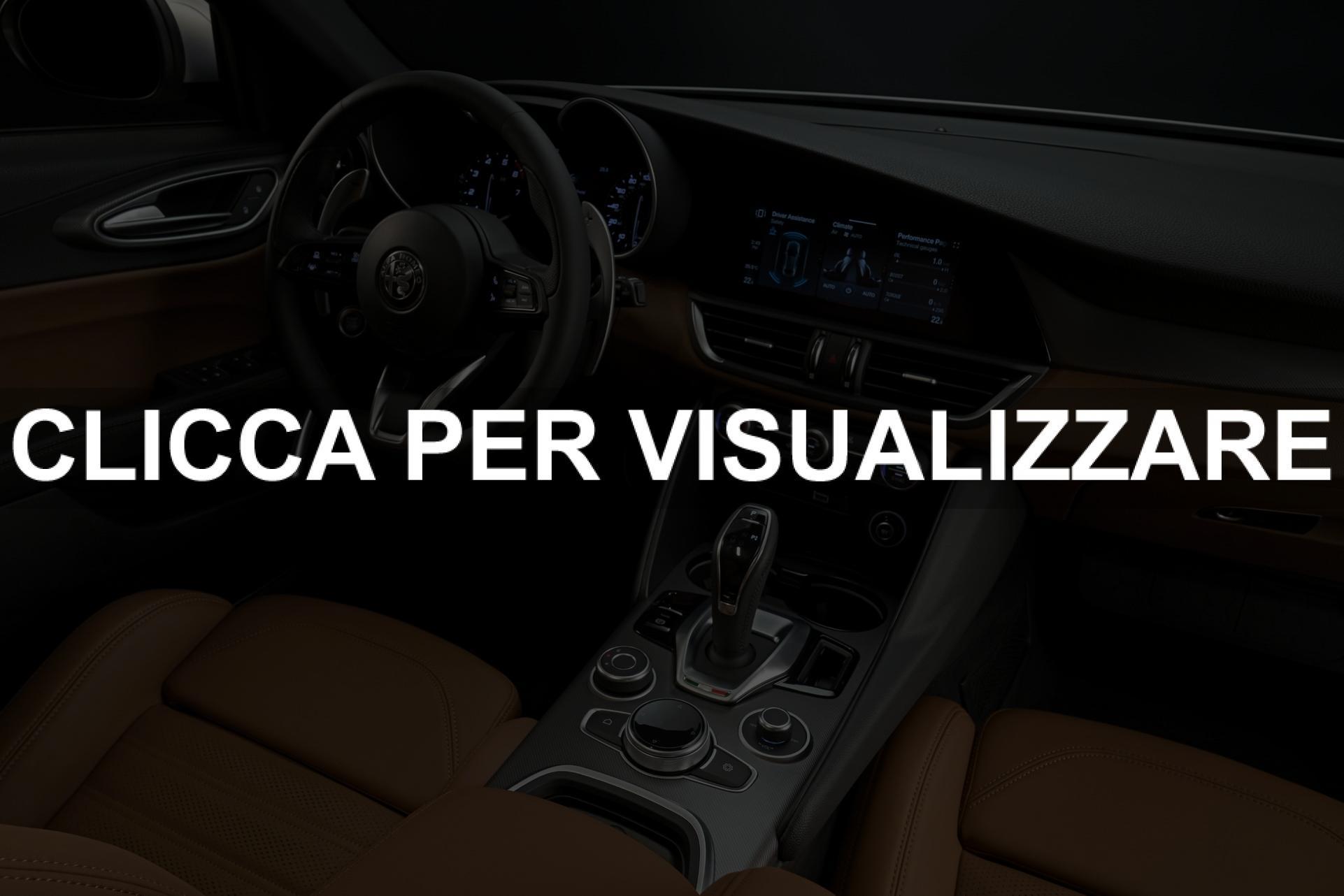 Immagine interni nuova Alfa Romeo Giulia restyling 2020