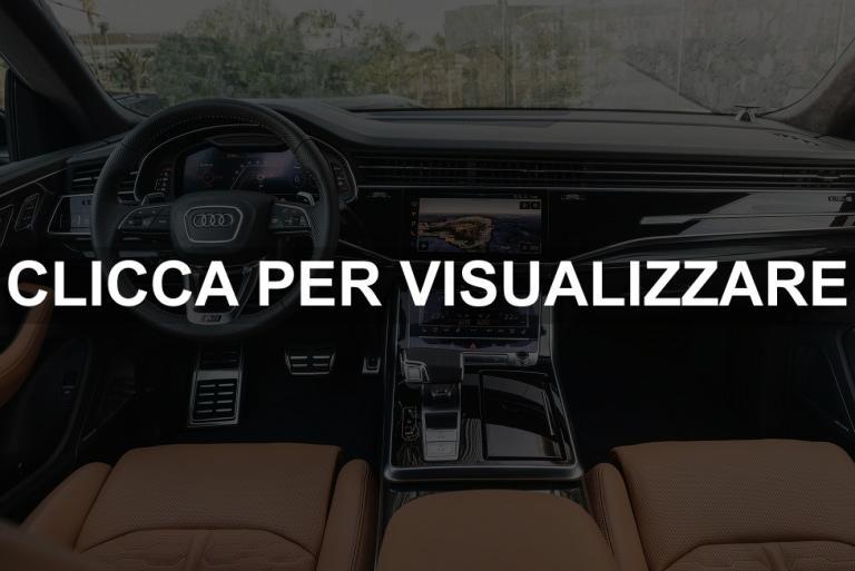Immagine interni nuova Audi RS Q8 2020