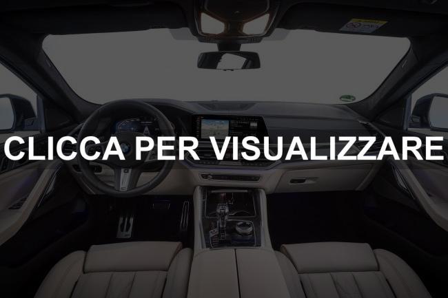 Immagine interni nuova BMW X6 2020