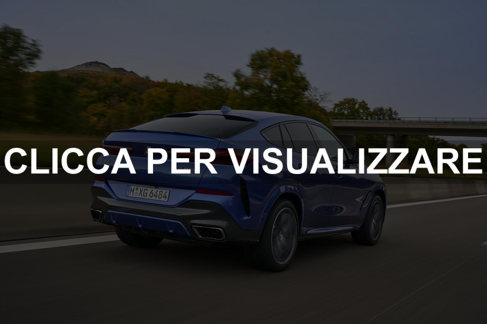 Immagine posteriore nuova BMW X6 2020