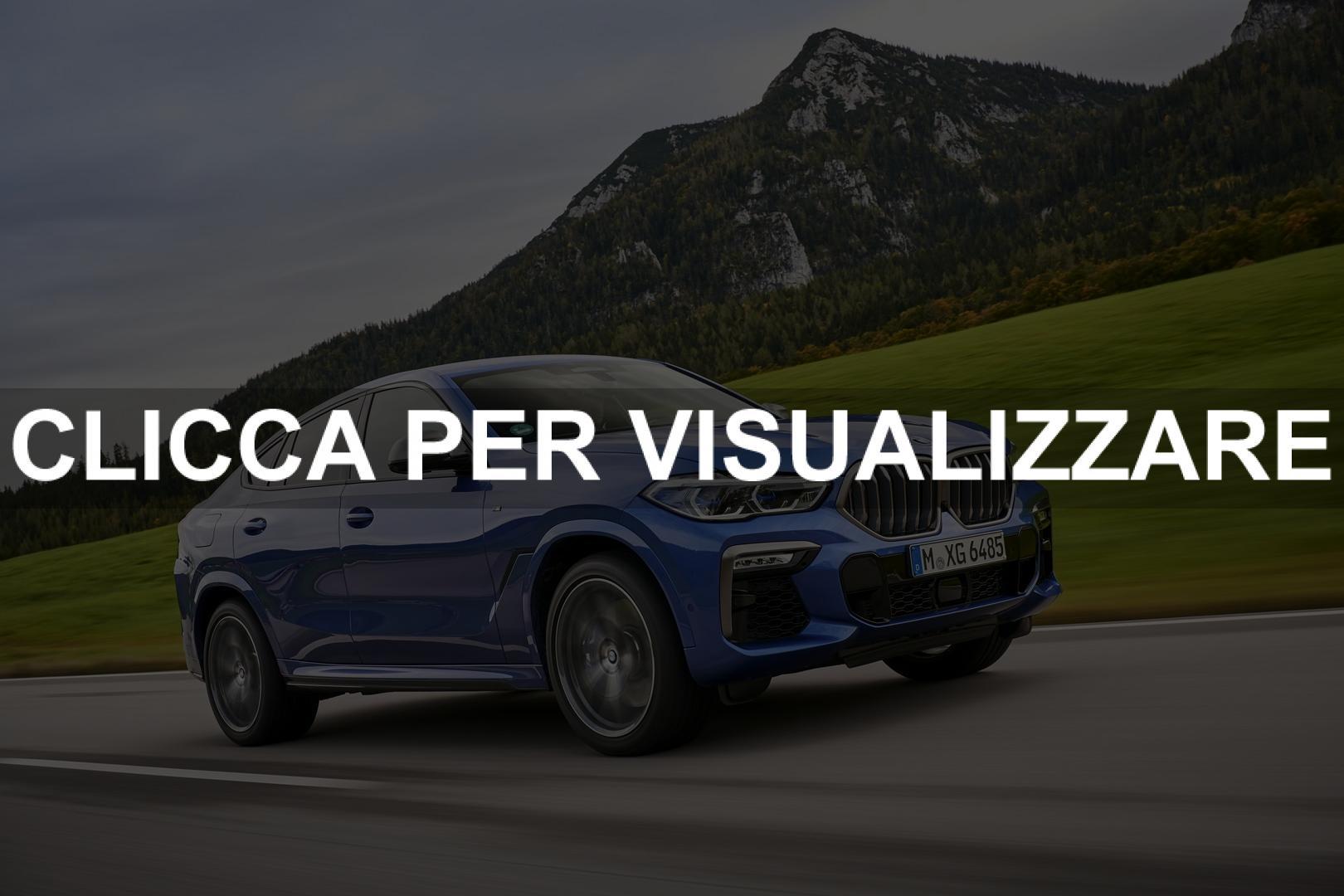 Immagini nuova BMW X6 2020