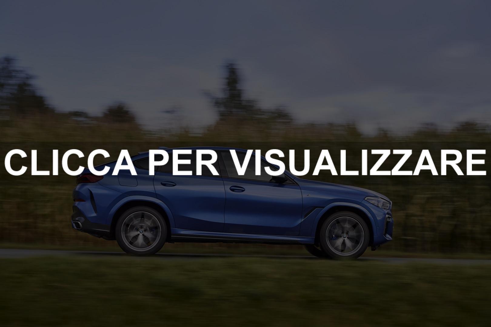 Immagini nuova BMW X6