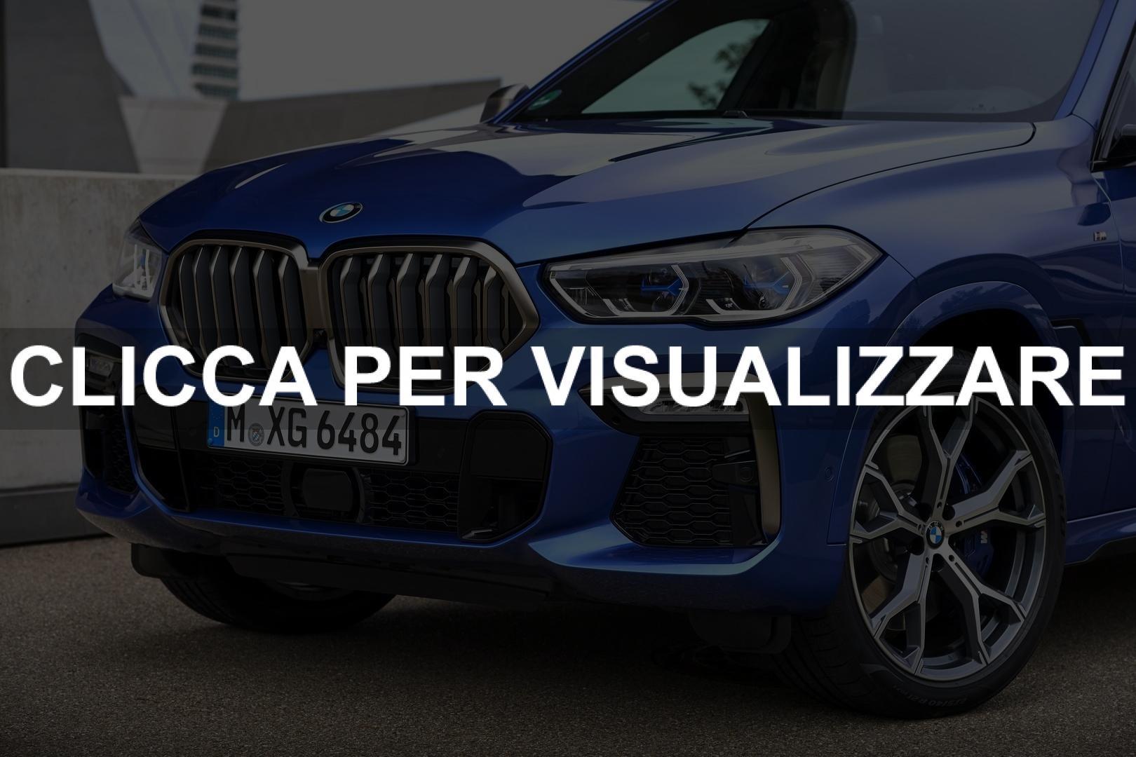 Nuovi dettagli frontali BMW X6 2020