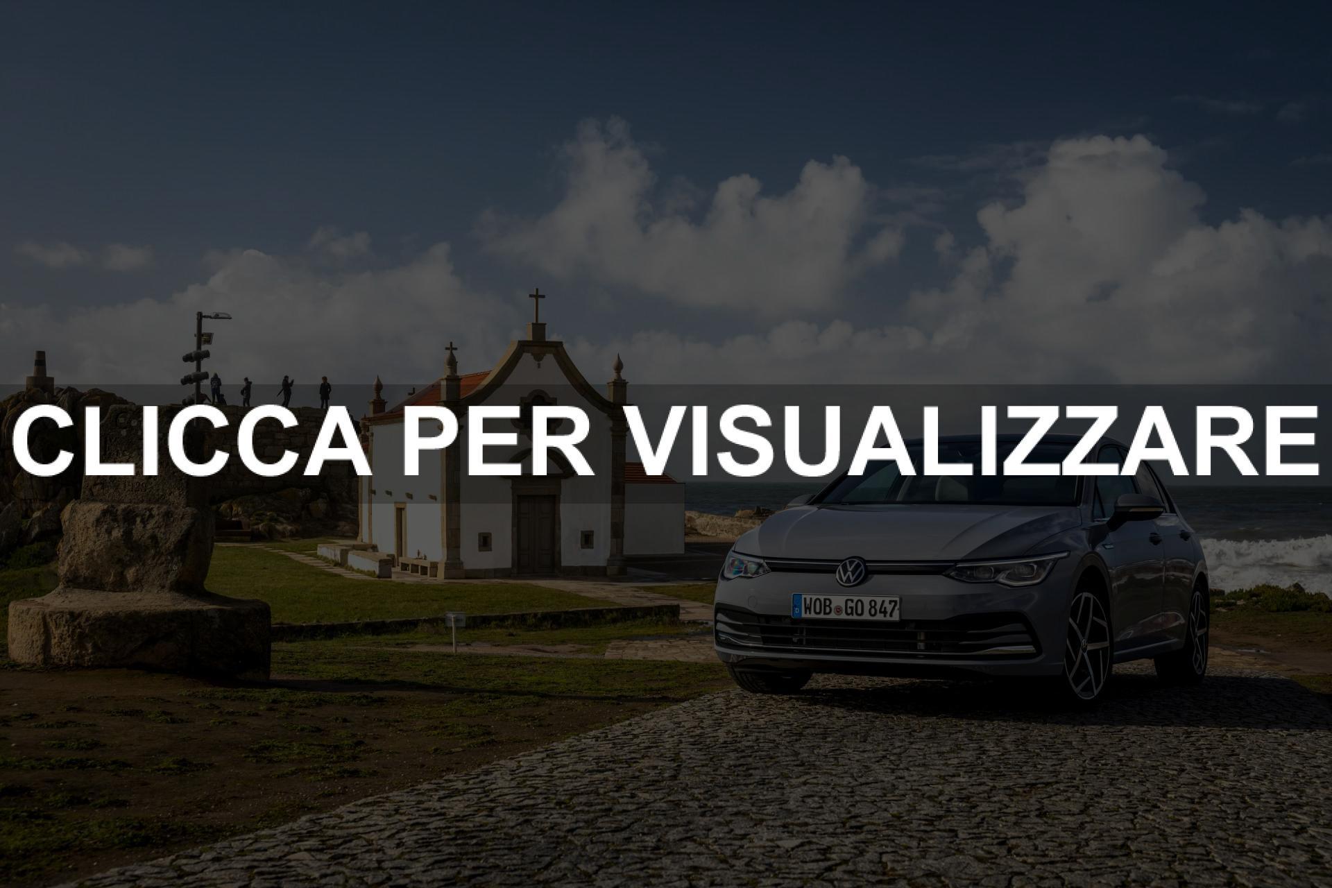 Nuovo grigio Volkswagen Golf 8