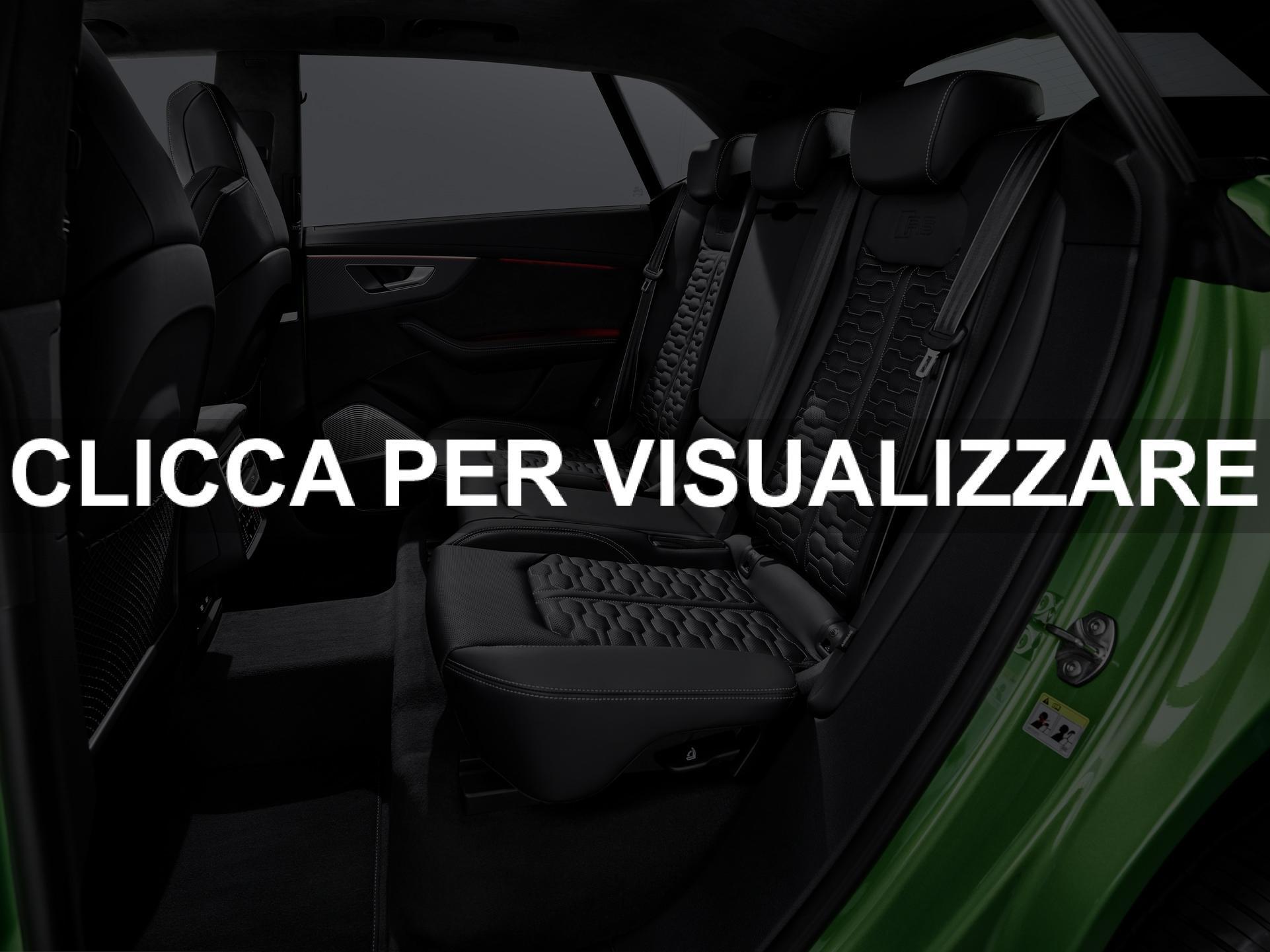 Sedili posteriori nuovo Suv Audi RS Q8 2020