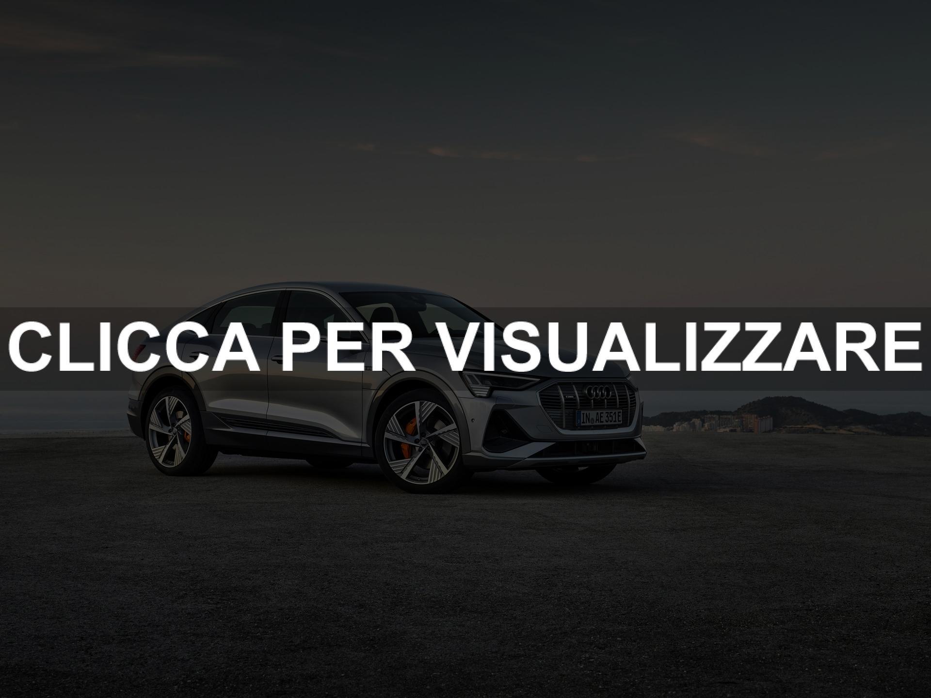 Foto nuova Audi e tron Sportback 2020