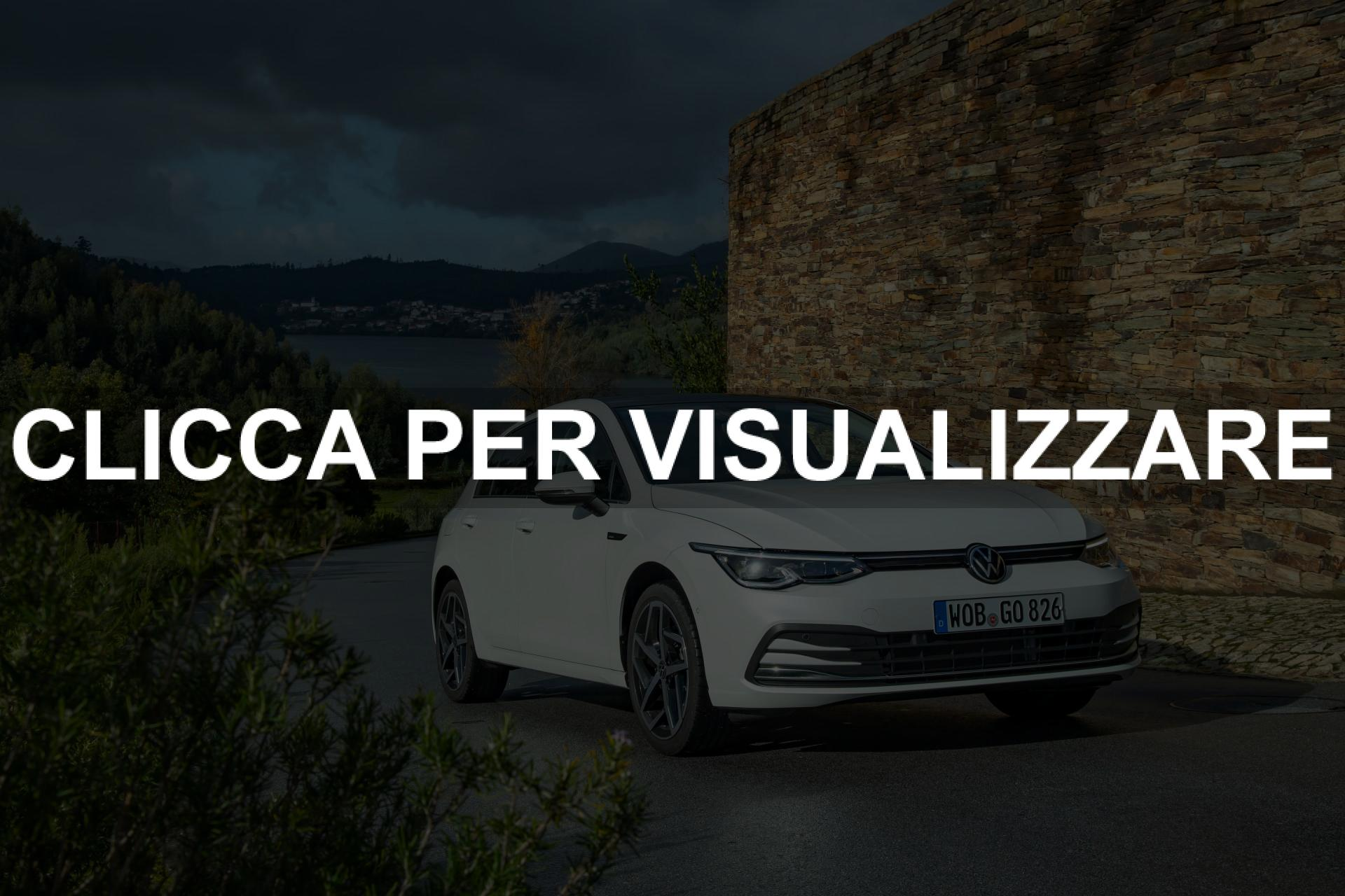 Foto nuova Volkswagen Golf 8 2020