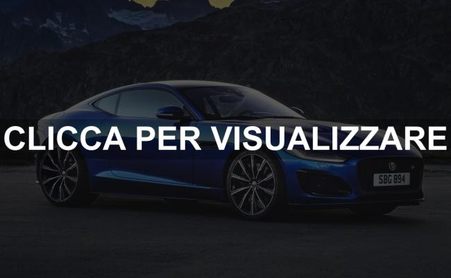 Immagine fiancata Nuova Jaguar F Type 2020 Restyling