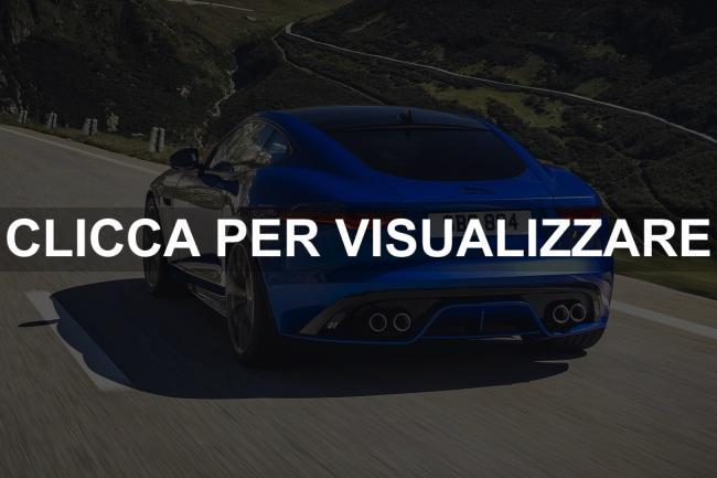 Immagine posteriore Nuova Jaguar F Type 2020 Restyling