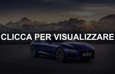 Nuova Jaguar F Type 2020 Restyling