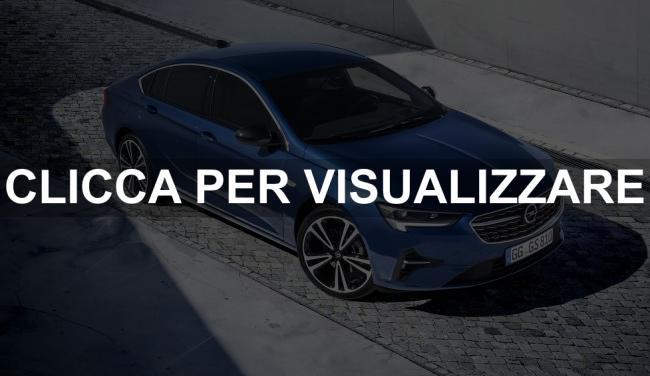 Nuova Opel Insignia 2020 restyling berlina