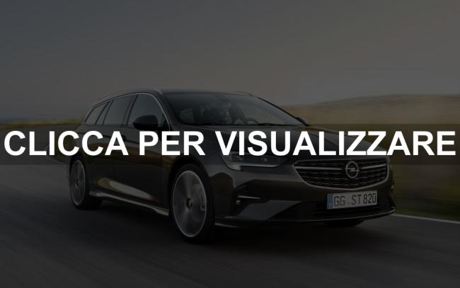 Nuova Opel Insignia Station Wagon Sports Tourer 2020 restyling