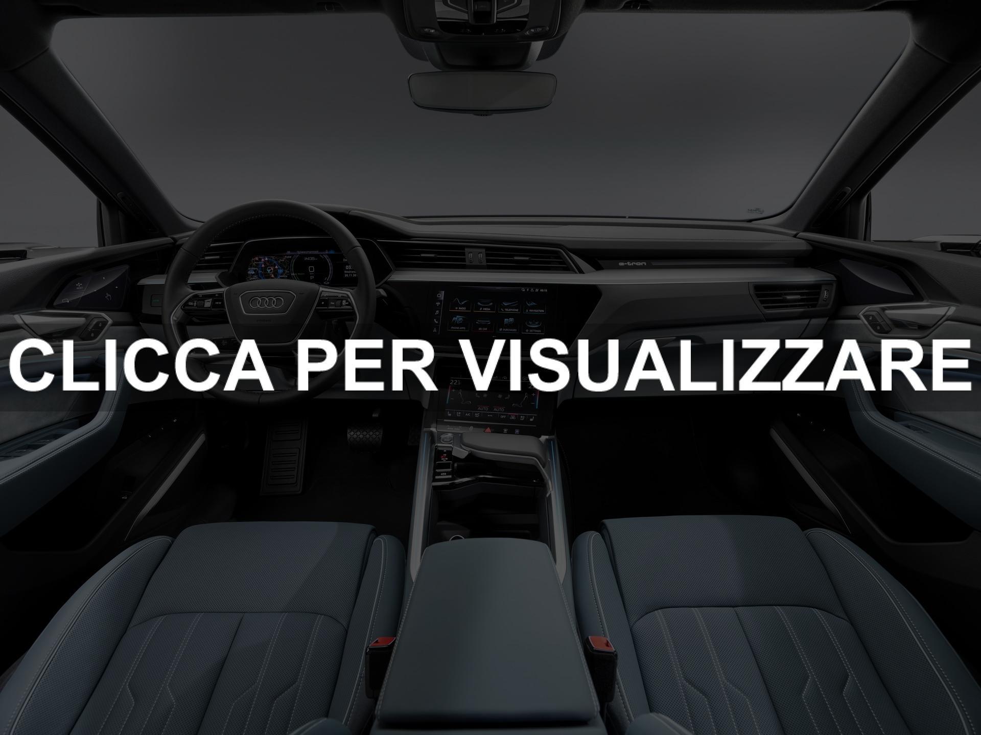 Plancia nuova Audi e tron Sportback 2020