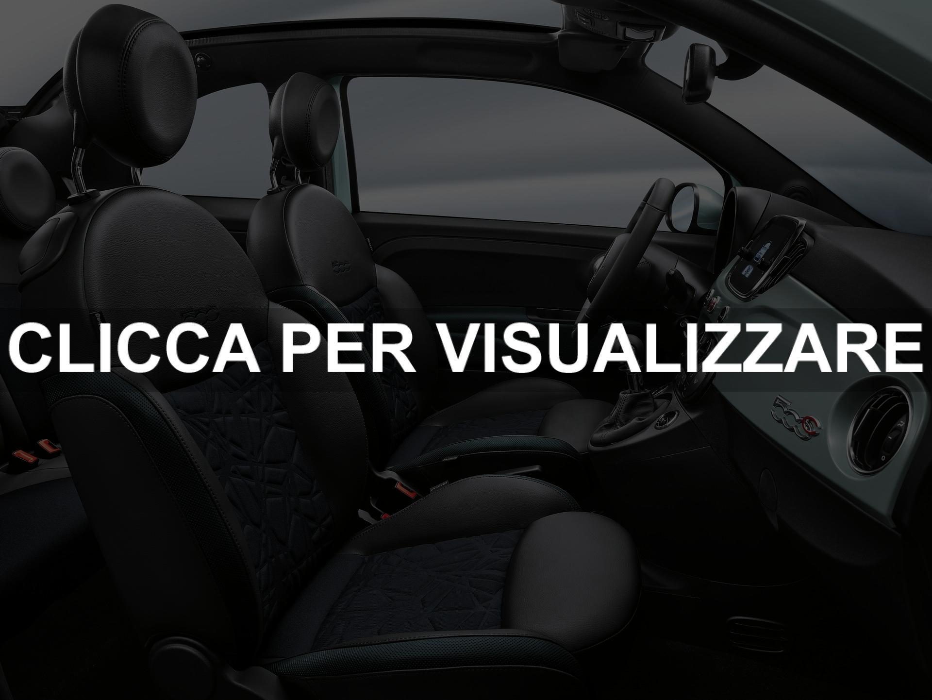 Interni Abitacolo nuova Fiat 500 Hybrid 2020