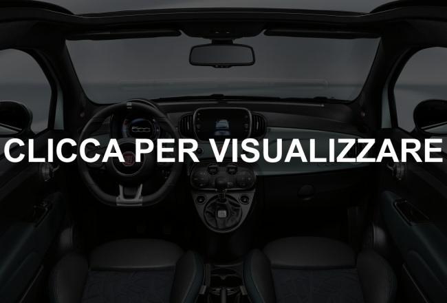 Interni nuova Fiat 500 Hybrid 2020
