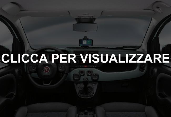 Interni nuova Fiat Panda Hybrid 2020