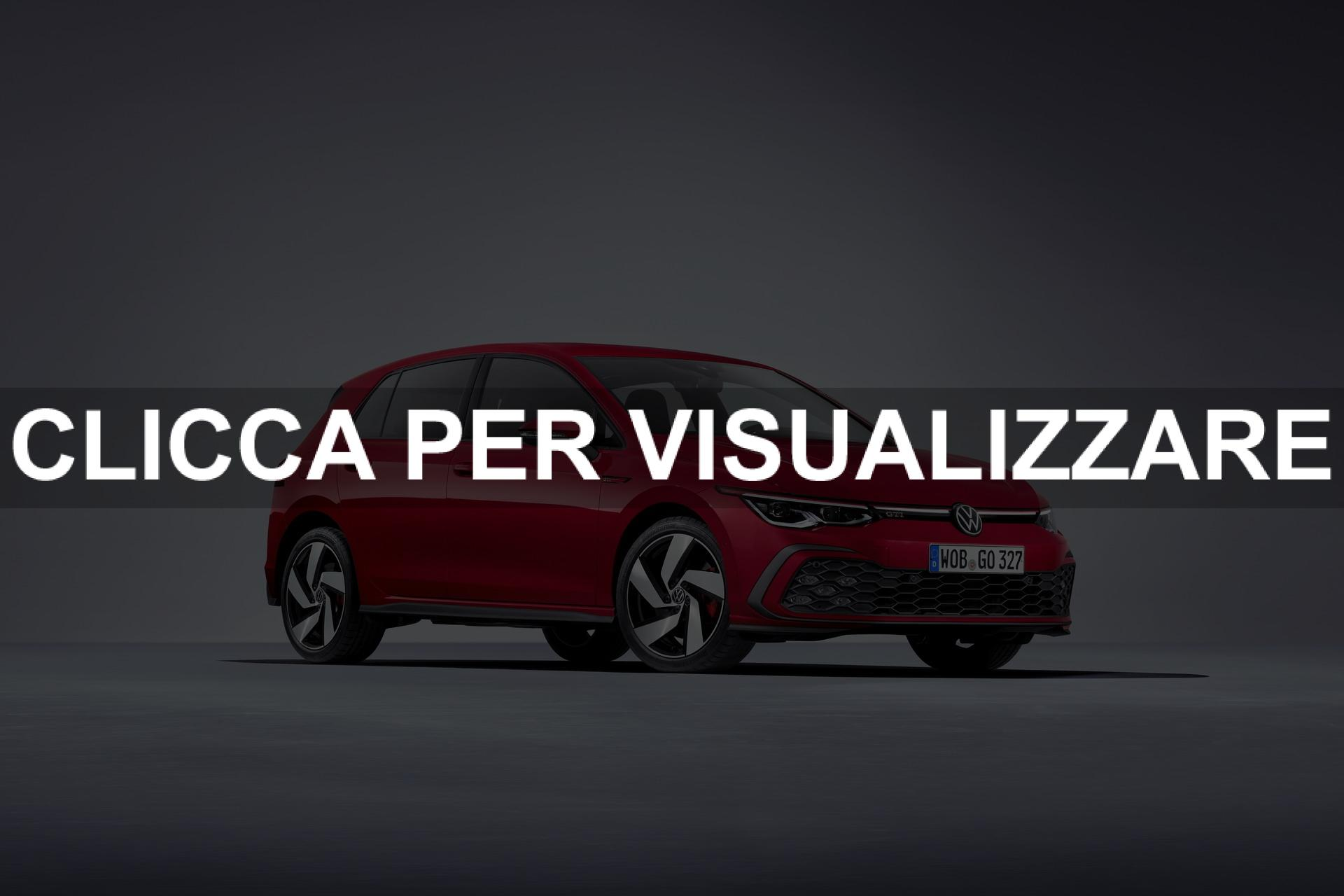 Immagine fiancata nuova Volkswagen Golf 8 GTI 2020