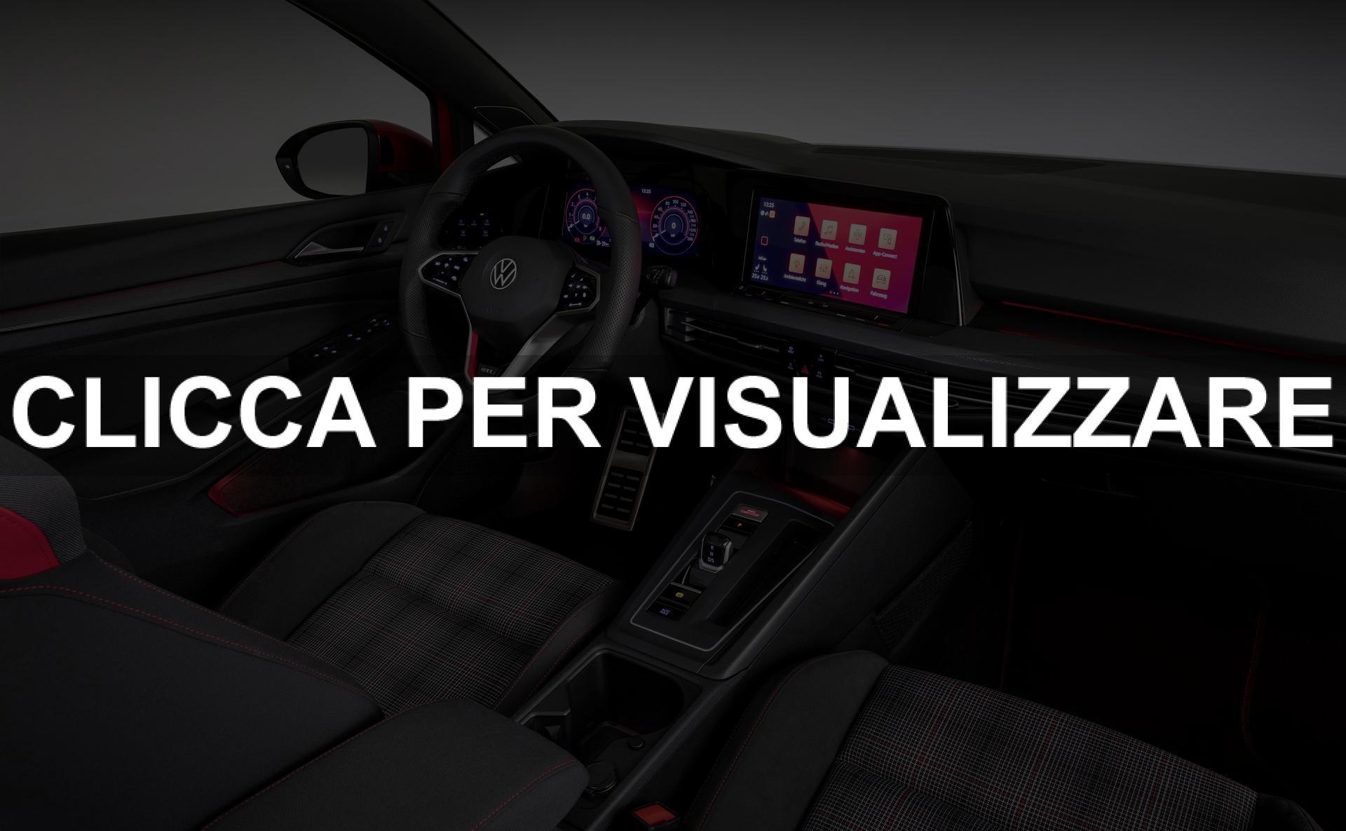 Immagine interni nuova Volkswagen Golf 8 GTI 2020