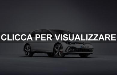 Nuova Volkswagen Golf 8 GTE Ibrida 2020