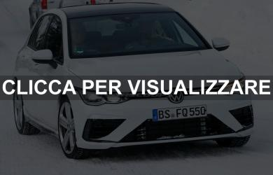 Nuova Volkswagen Golf R 2020