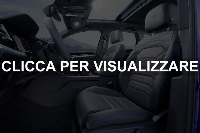 Sedili nuova VW Touareg R Ibrida