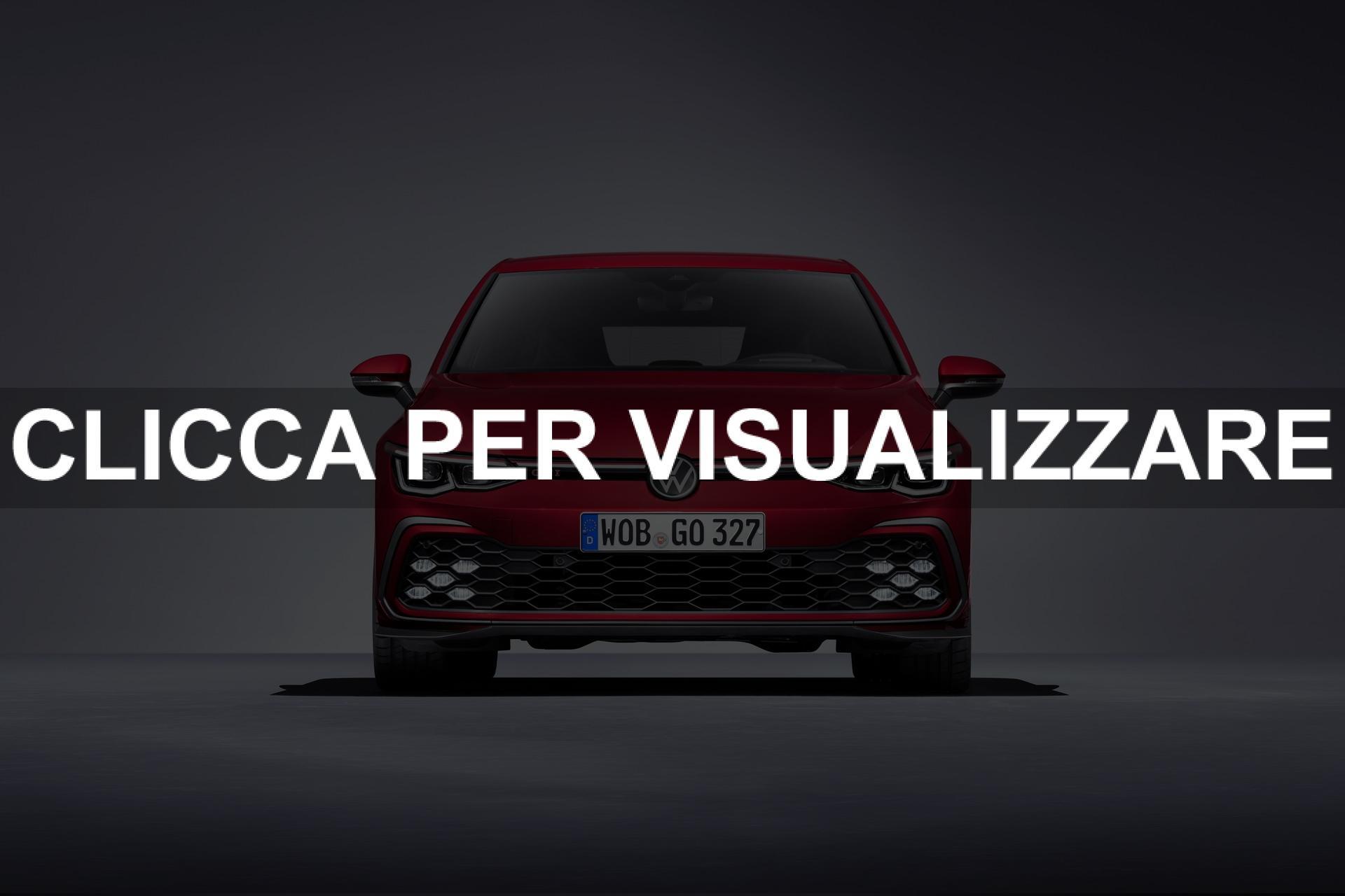 Immagine frontale nuova Volkswagen Golf 8 GTI 2020