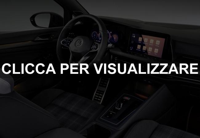 Immagine interni nuova Golf GTD 2020