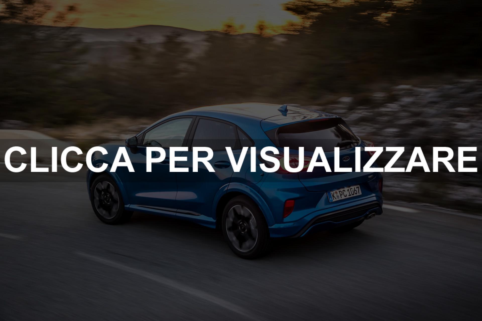 Immagini nuova Ford Puma 2020