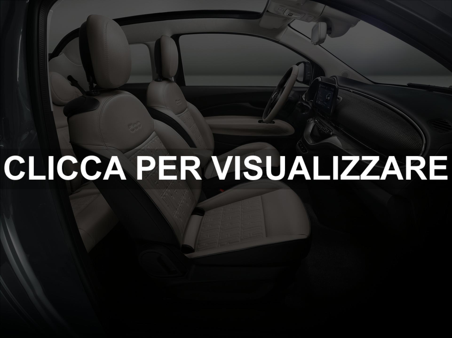 Interni nuova Fiat 500 elettrica
