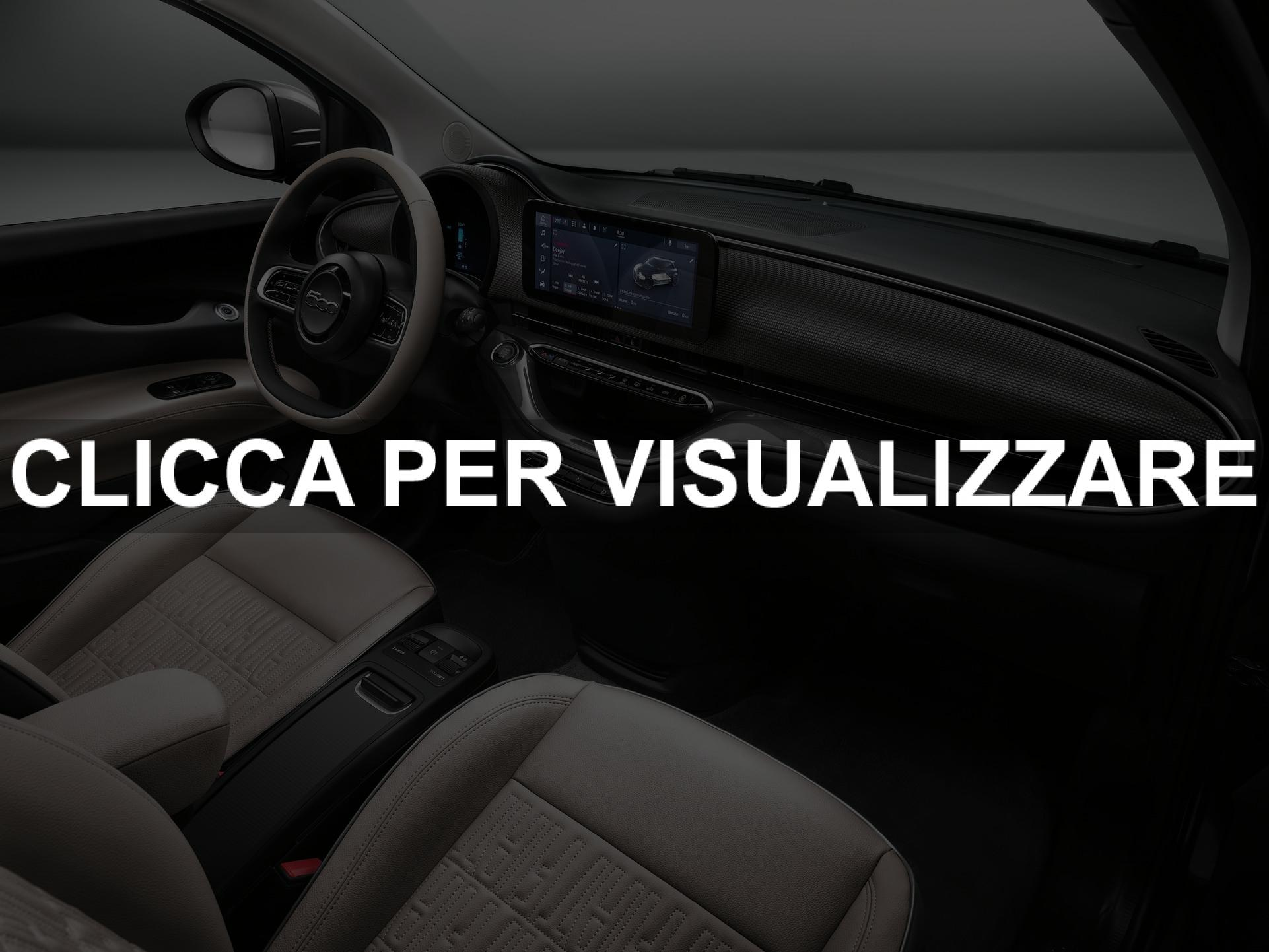 Interni nuova Fiat 500e La Prima
