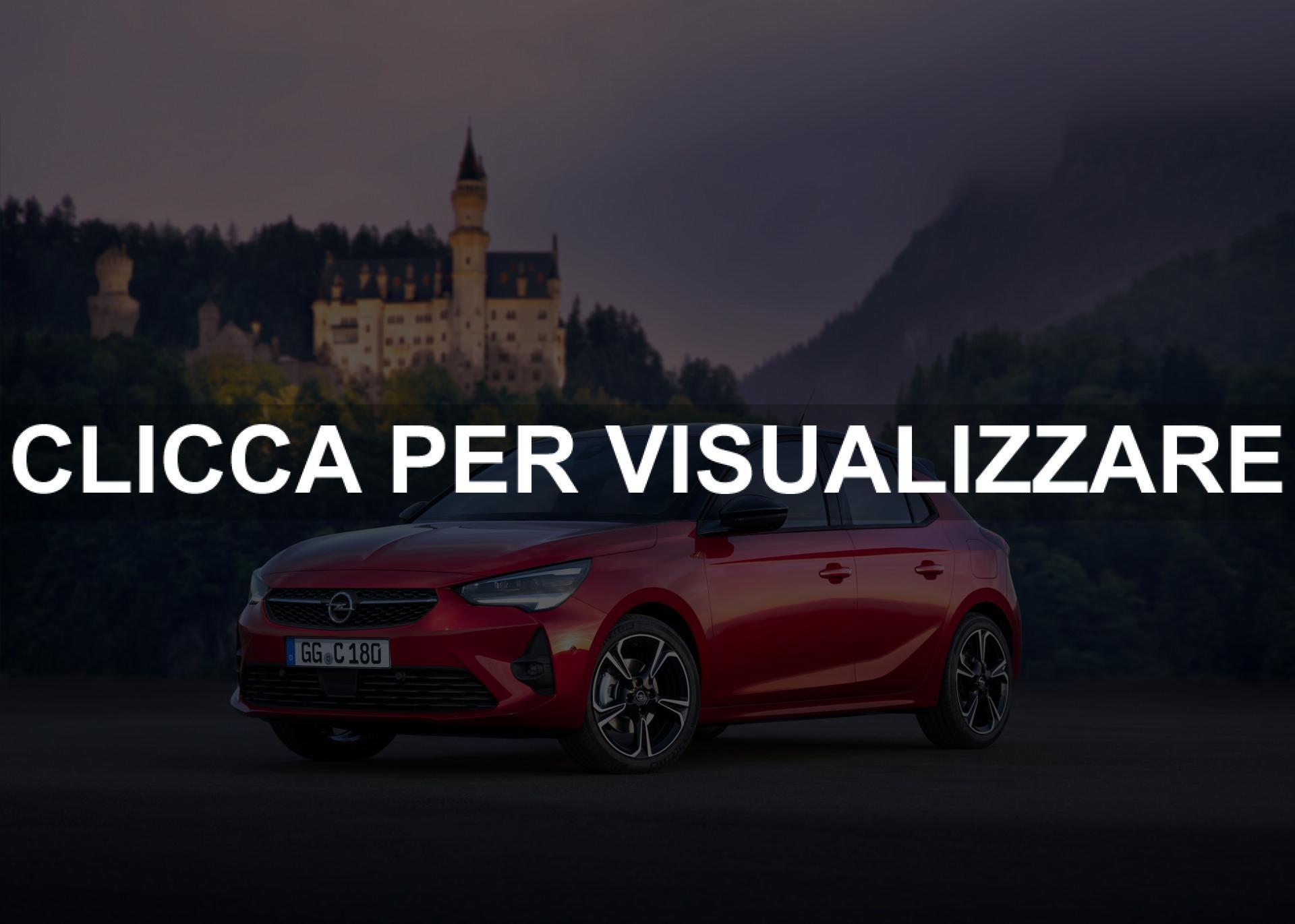 Listino Prezzi nuova Opel Corsa e Corsa Elettrica 2020