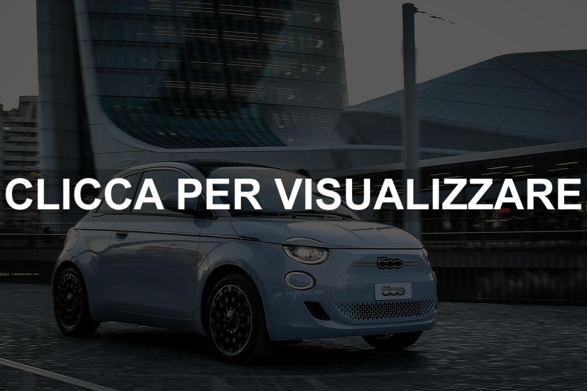 Nuova Fiat 500 elettrica Celeastial Blue