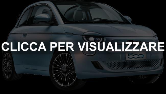 Nuova Fiat 500 elettrica Celestial Blue