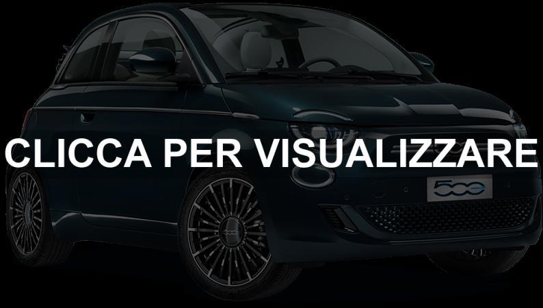 Nuova Fiat 500 elettrica Ocean Green