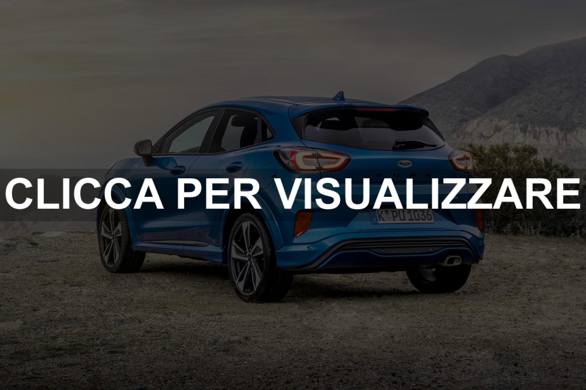 Nuova Ford Puma 2020